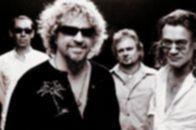 Sammy Hagar mit Van Halen