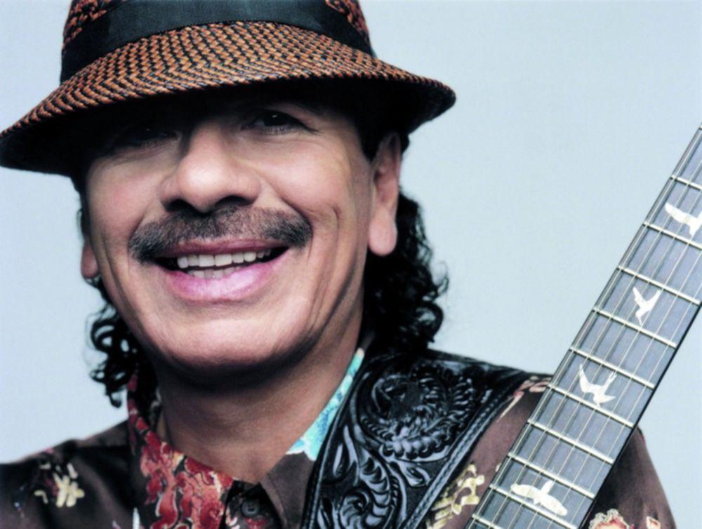 Carlos Santana 100 beste gitarristen