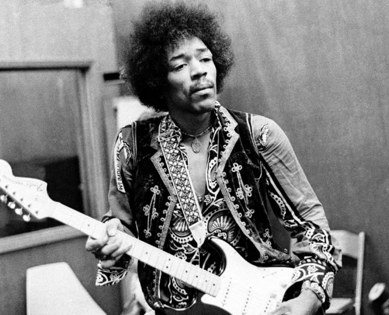 Jimmy Hendrix 100 beste gitarristen