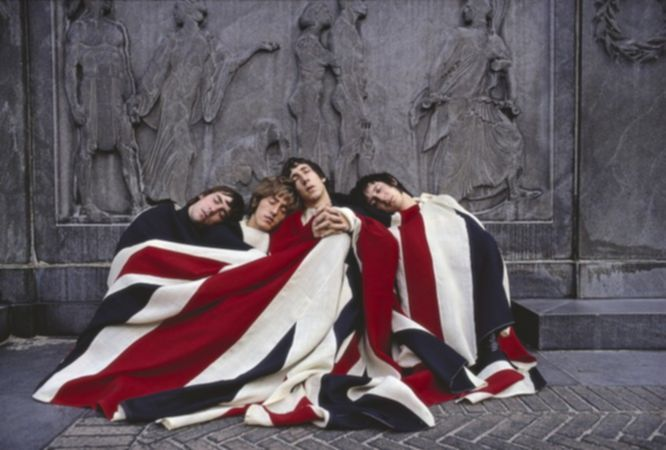 The Who with Flag