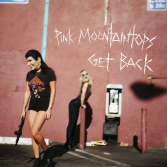 pink mountaintops