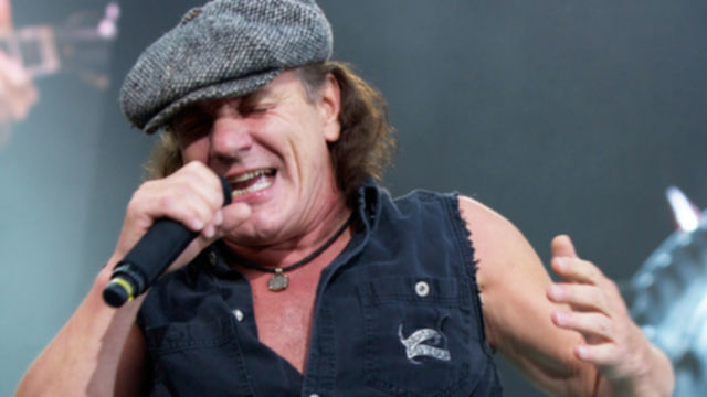 AC/DC Perform In Oslo