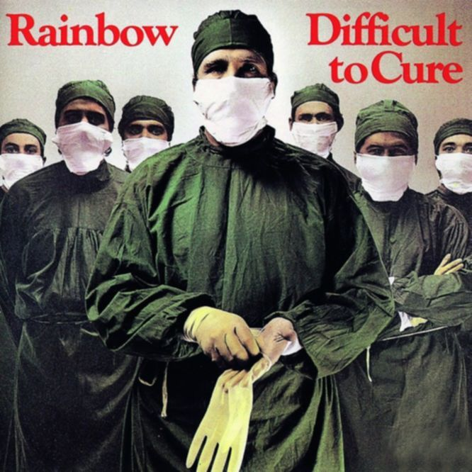 Wunderbar: DIFFICULT TO CURE, Rainbow  (POLYDOR, 1981)