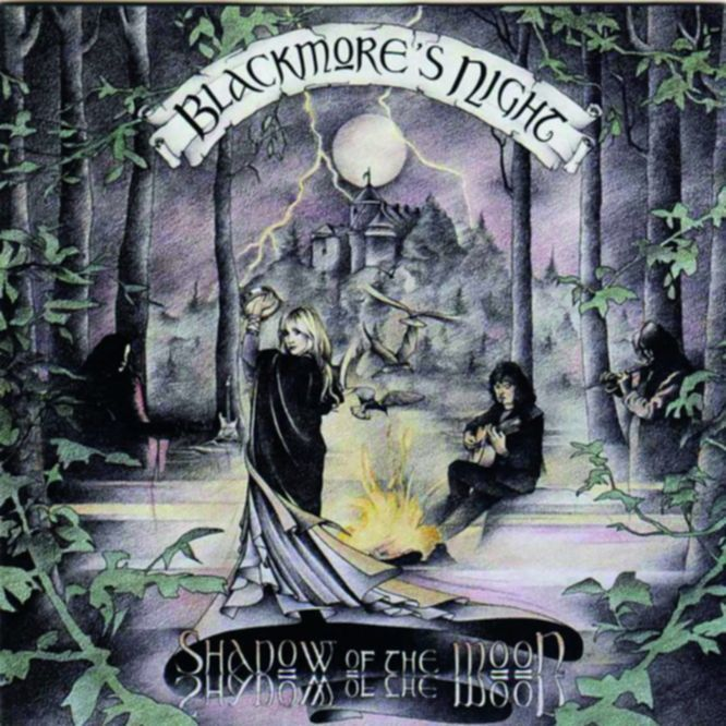 Anhörbar: SHADOW OF THE MOON,  Blackmore's Night  (EDEL, 1997)