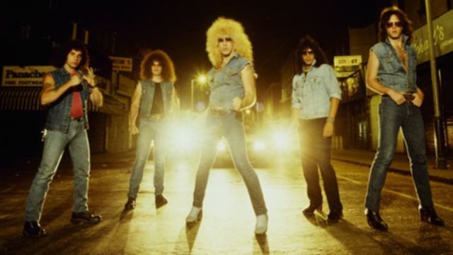 Group Portrait Of Twisted Sister