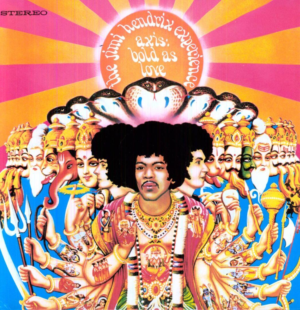 Wunderbar: AXIS: BOLD AS LOVE (Polydor, 1967)