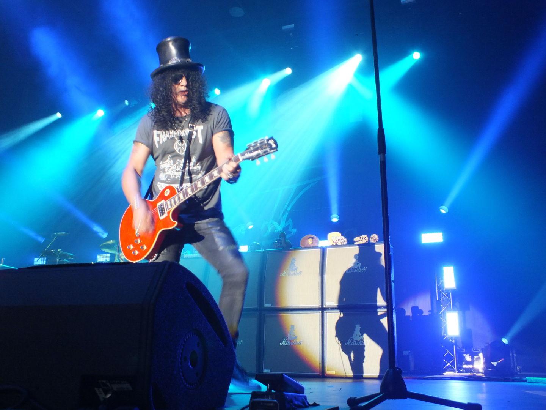 Die Gitarrenkünste des ehemaligen Guns N' Roses-Mitglieds hatten aber wohl dennoch die meisten Fans in den Münchner Norden gelockt.