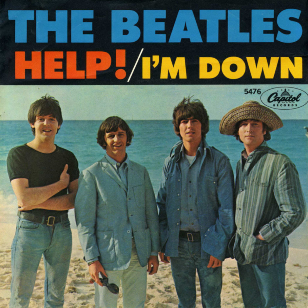 The Beatles - HELP!/I'M DOWN (1965)