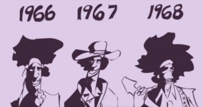 Jimi Hendrix comic