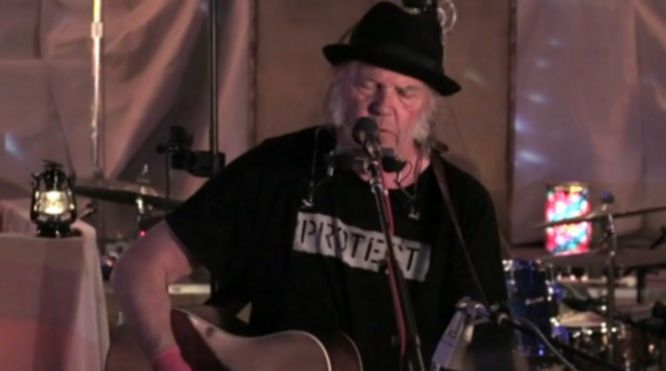 Neil Young wolf moon video 2