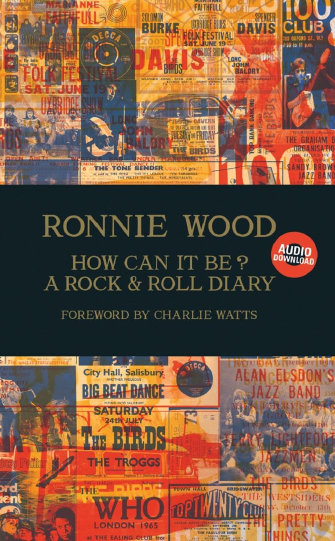 ronnie wood diary