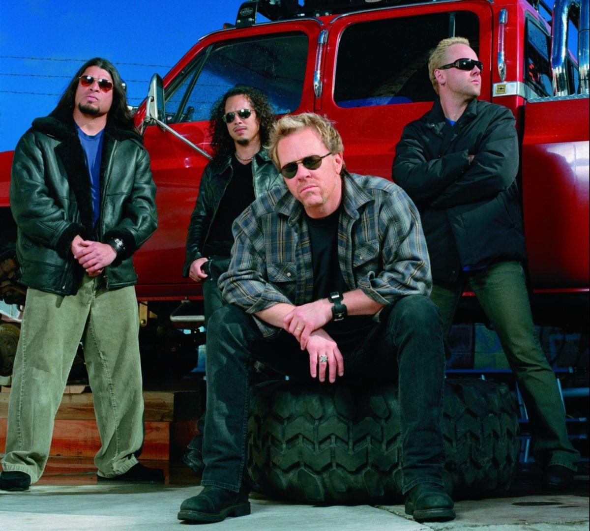 Metallica - St. Anger 2003 - CMS Source press