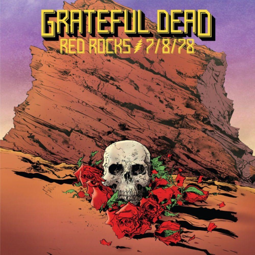 grateful dead red rocks