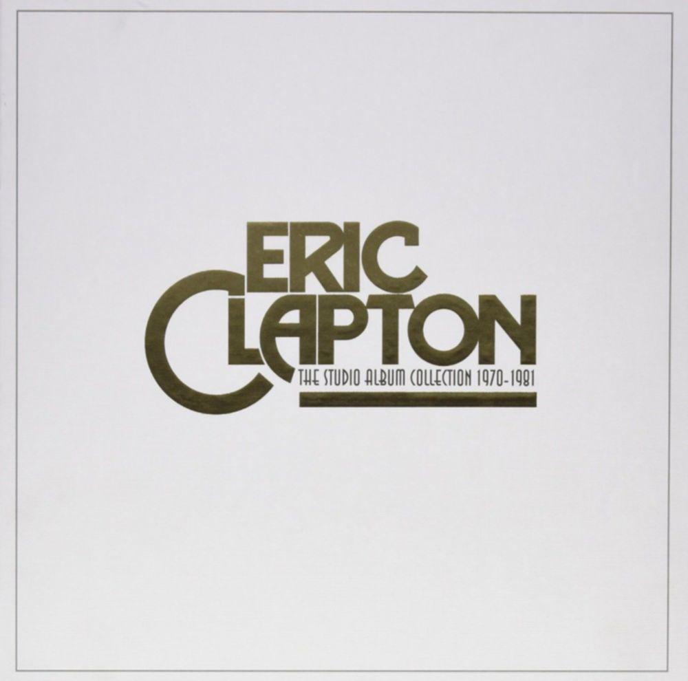 eric clapton studio album collection