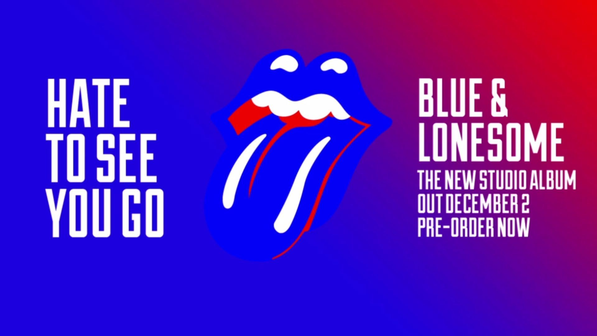 rolling stones hate to see you go